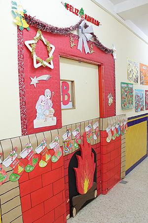 Dibujos De Navidad Para Decorar La Clase.Una Navidad Solidaria Colegio Altair