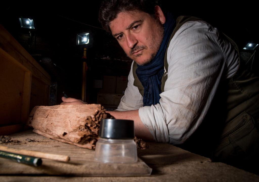 Antonio Javier Morales Rondán, profesor de Egiptología y especialista en epigrafía