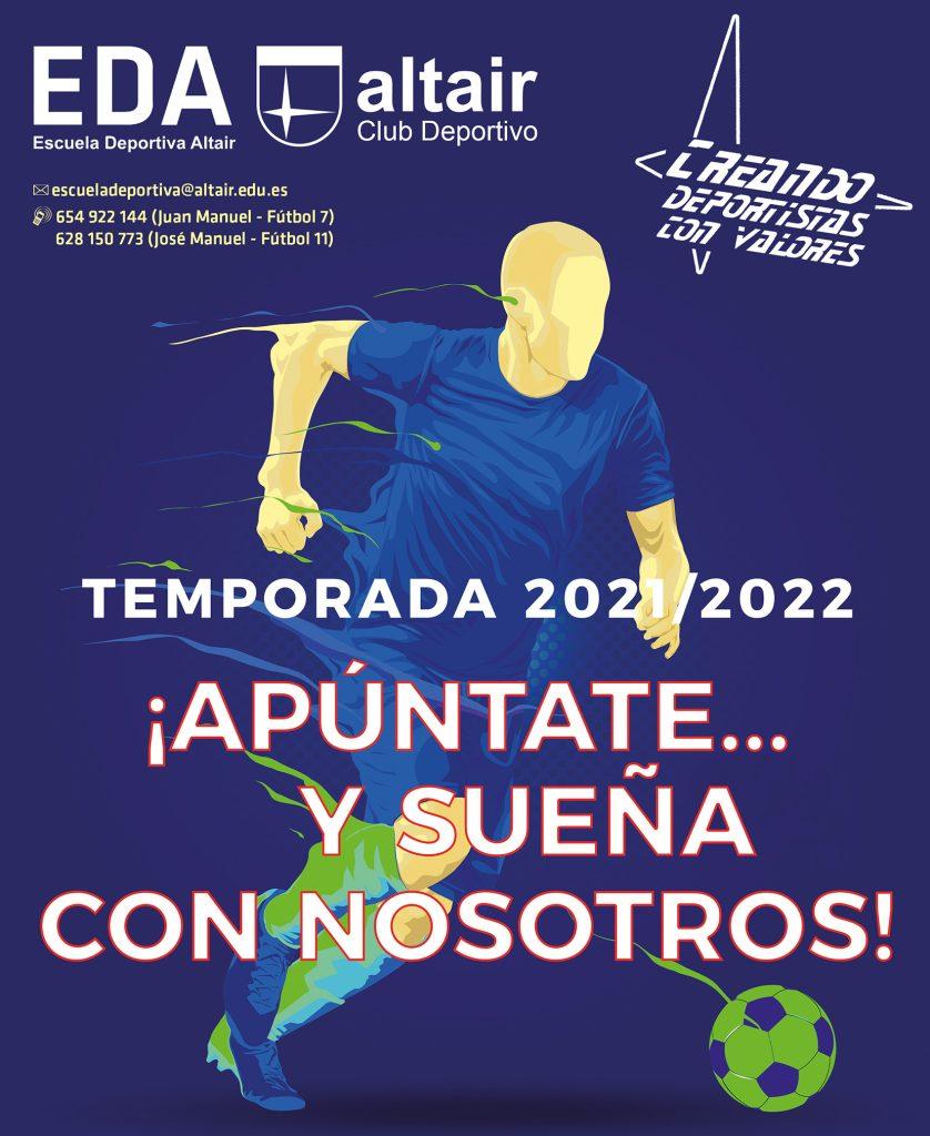 Escuela Deportiva Altair, curso 2021-2022