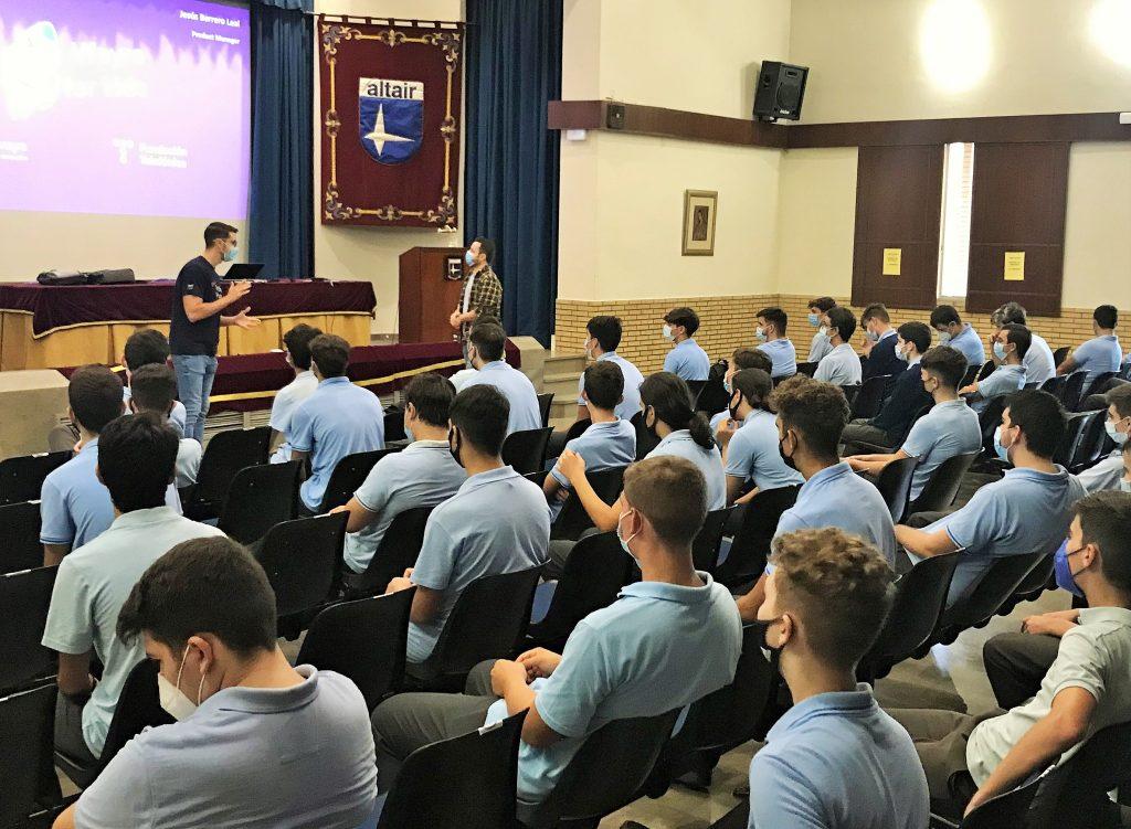 Sesión sobre emprendimiento para Bachillerato Altair